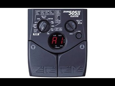 Zoom 505-II: High definition recording of this classic!