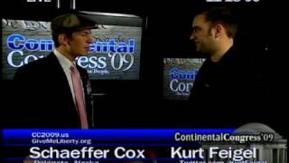 Schaeffer Cox Interview Part 2 Continental Congress cc2009