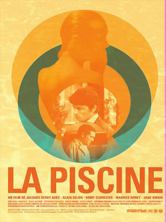 La piscine g n rique michel legrand la piscine 1969 for A la piscine translation