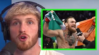 LOGAN PAUL SPEAKS ON CONOR MCGREGOR'S 40 SEC KO