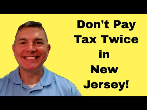 New Jersey Retirement Taxes - Don't Pay TWICE!!!