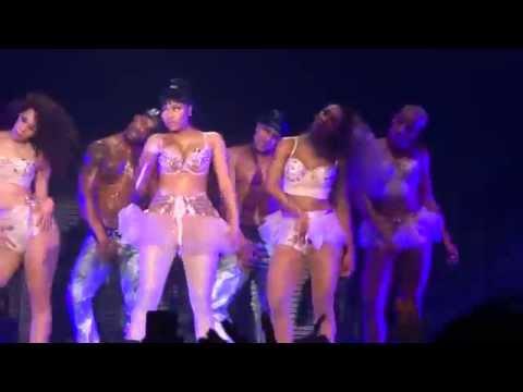 Nicki Minaj - Turn Me On - live Manchester 4 april 2015