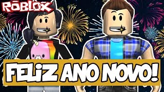 TURN OF THE YEAR WITH THE MARMOTINHAS! -ROBLOX (Life in Paradise)