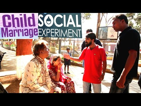 child marriage Social Experiment Photoshoot In india