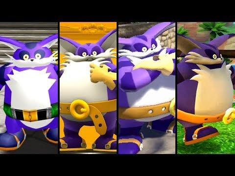Evolution Of Big The Cat (1998 - 2018)