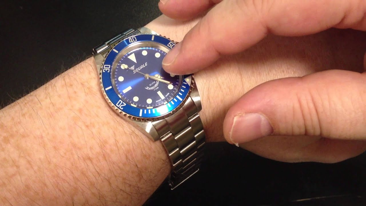 best a watches diver squale youtube atmos review dive it under the is watch
