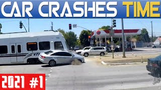 BEST OF DASHCAMS - DRIVING FAILS, INSTANT KARMA & WTF Compilation - 2021 / Episode #1