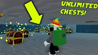 HOW TO GET UNLIMITED TREASURE CHESTS! - Treasure Hunt Simulator (Roblox)