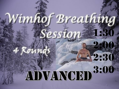 Best Wim Hof 4 Rounds Advanced Breathing Session