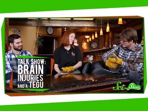 Talk Show: Brain Injuries & Pearl the Tegu