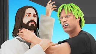 Jesus Tries To Steal My Dragon Egg.. (GTA RP) thumbnail