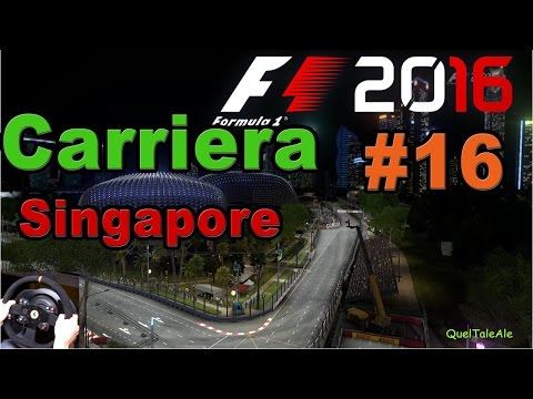 F1 2016 - PS4 Gameplay ITA - T300 - Carriera #16 - Gara Mari