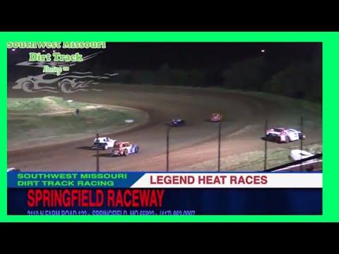 legend Heat Races Springfield Raceway September 16 2017
