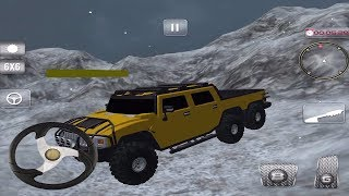 Snow Driving Offroad 6x6 Truck Game