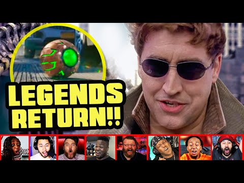 Reactors Reaction To Seeing Doctor Octopus On Spiderman No Way Home Trailer | Mixed Reactions
