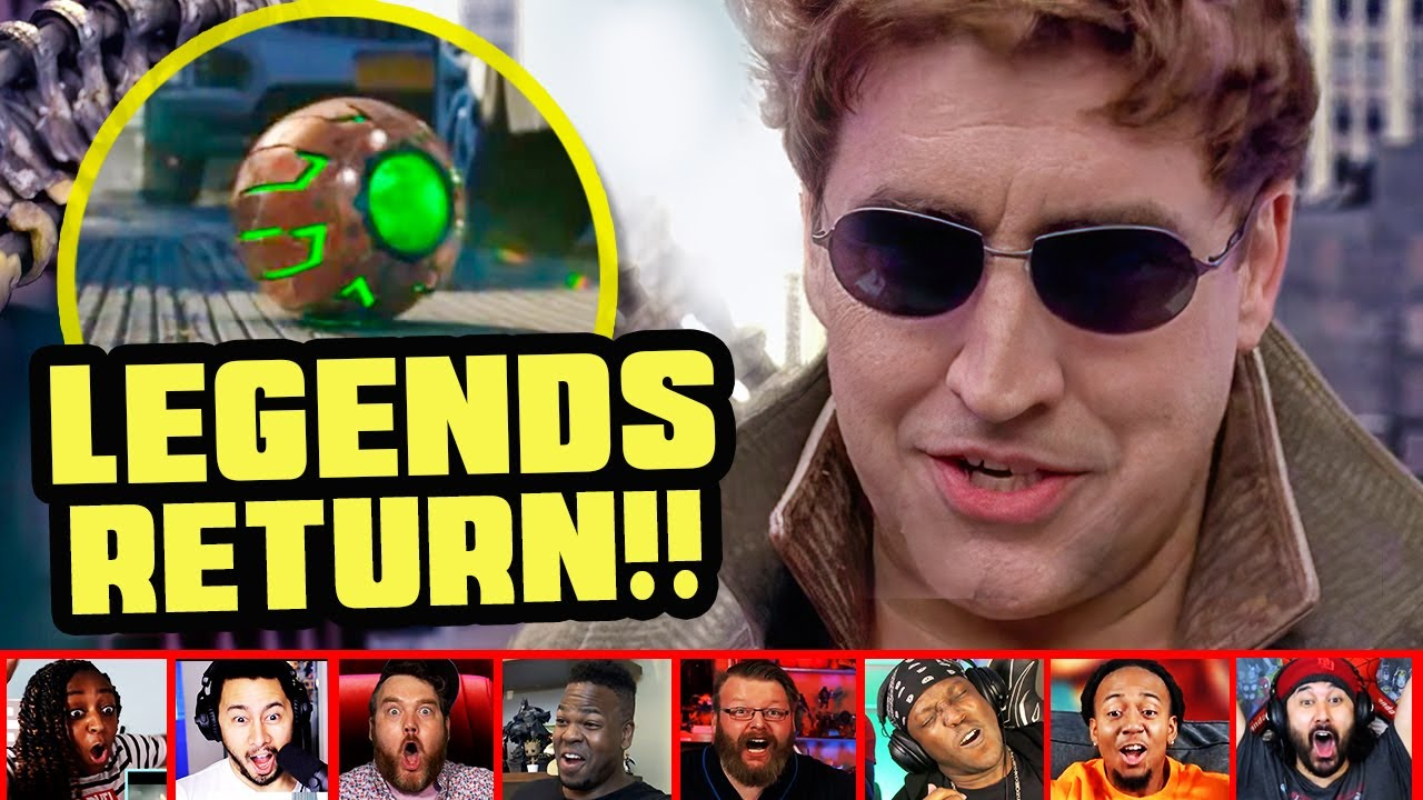 Download Reactors Reaction To Seeing Doctor Octopus On Spiderman No Way Home Trailer | Mixed Reactions