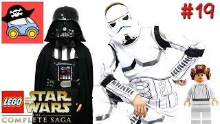 👽 #19 СЕКРЕТНЫЕ ПЛАНЫ. Lego Star Wars The Complete Saga. Новая надежда — Жестянка(Противостояние между Галактической Империей и Альянсом продолжается! Вражеский корабль во главе с Дартом..., 2016-10-18T04:00:01.000Z)