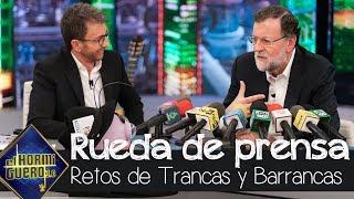 """Mariano Rajoy recuerda a un rival político: """"Echo de menos a Rubalcaba"""" - El Hormiguero 3.0"""