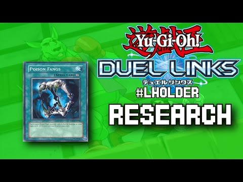 "HOLDING MULTIPLE POISON ""L's"" - Yu-Gi-Oh! Duel Links R&D  #LHOLDER"