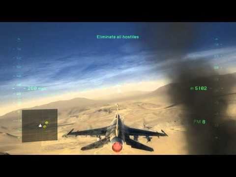Tom Clancy's H.A.W.X. 2 Mission 1