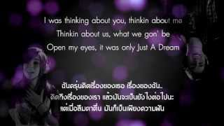 """Just A Dream"" (lyrics) - Sam Tsui & Christina Grimmie"