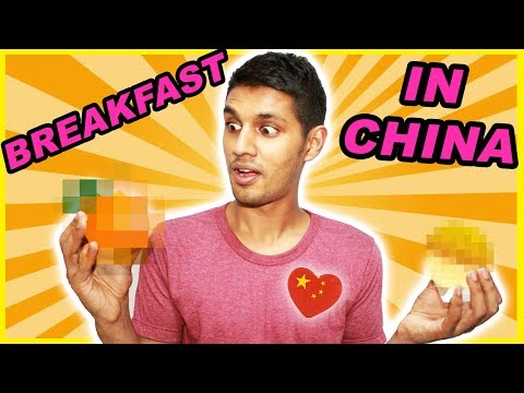 BREAKFAST IN CHINA  ||  What I eat for Breakfast in China?