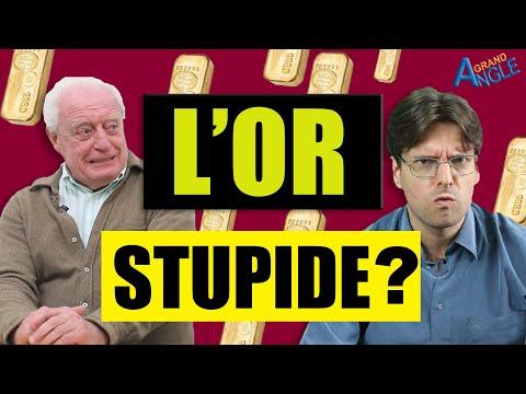 Charles Gave: Acheter de l'or est idiot ! Pourquoi investir dans l'or est une stupidité économique.