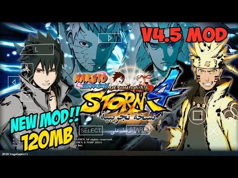 Naruto Ultimate Ninja Storm 4 V4.5 Mod Impact| PPSSPP Android Download