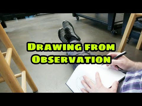 Drawing From Observation - Drawing on the Right Side of the Brain - Keys to Drawing - theartproject