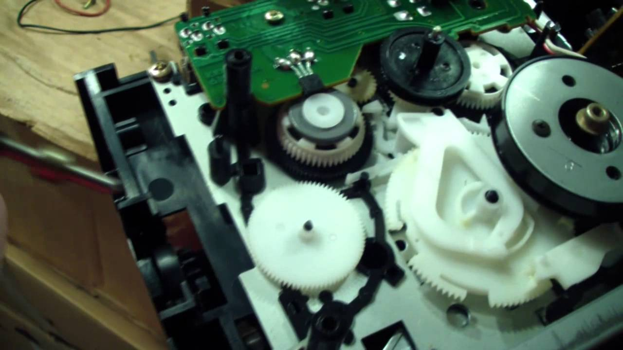 Kenwood Cassette Deck Belt Replacement