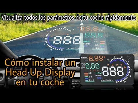 QUÉ ES Y CÓMO INSTALAR UN HUD (CAR HEAD UP DISPLAY)