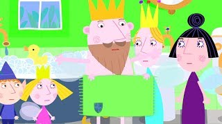 Ben and Holly's Little Kingdom | King Thistle Need a Elf Plumber | Cartoon for Kids