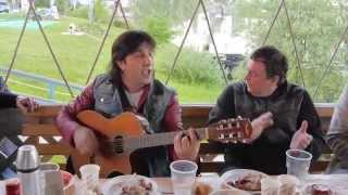 Веселая цыганская песня в исполнении А. Марцинкевича