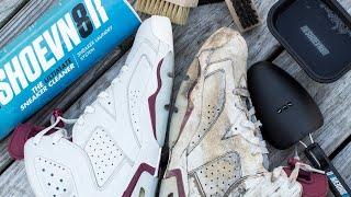How to deep clean Jordan Maroon 6