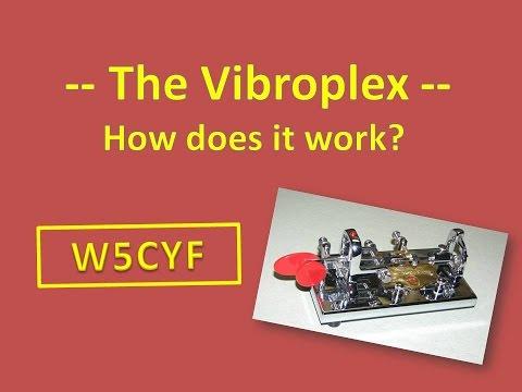 The Vibroplex CW