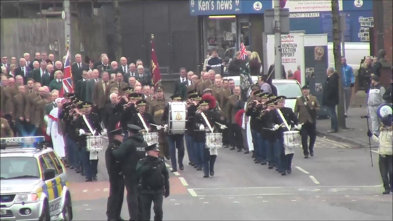 Ass Parade Images 1st shankill somme ass parade 2018