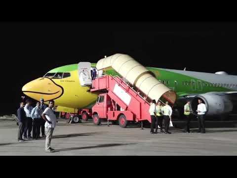 Guwahati-Bangkok Nok Air inaugural flight