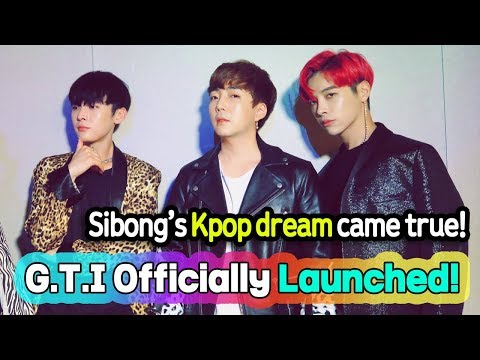 Sibong's Kpop Group! G.T.I officially launched (Siti Badriah - Lagi Syantik Cover)