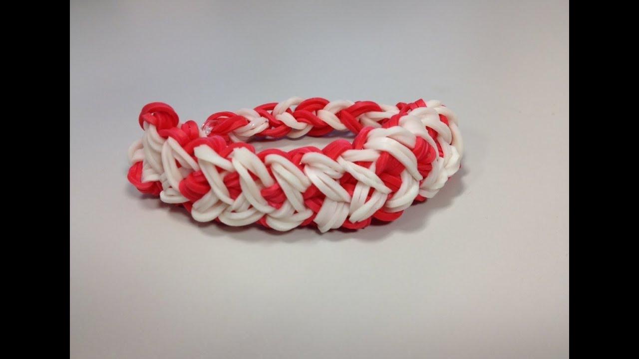 How To Make Heart Bracelet | Design Rubber Band Heart Bracelets on ...