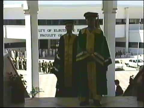 GIK Institute Convocation 1997 - The first commencement