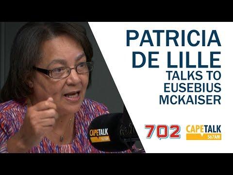 Patricia de Lille talks to Eusebius McKaiser