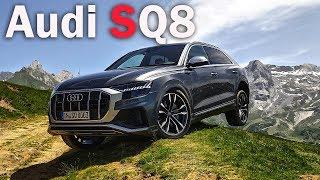 Почему Audi SQ8, а не BMW X6 и Mercedes GLE? СУПЕР ЛЮТЫЙ ДИЗЕЛЬ!