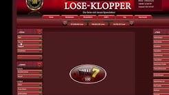 Lose-Klopper - Eine neue Klamm-Loseseite