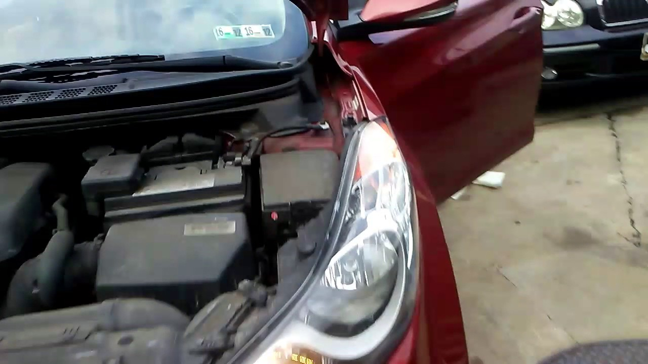 2013 Hyundai Elantra Fuel Filter Crank Sensor Location Youtube