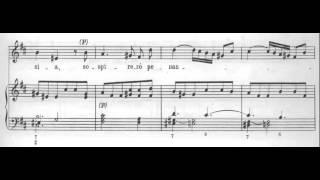 Vedro con mio diletto ( Giustino RV 717 - A. Vivaldi) Score Animation