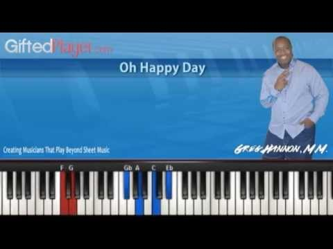Ewdin Hawkins Oh Happy Day With a 2014 Sound - Piano Tutorial