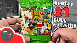 Open the full set of LEGO Minifigures Series 21 Anhktay characters blind-bag ToyStation 571