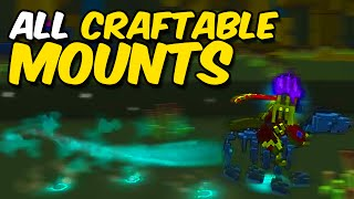 All Craftable Mounts in Trove