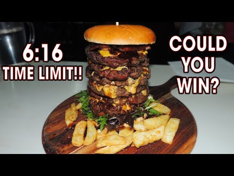 AUSSIE BURGER CHALLENGE IN NEW SOUTH WALES!!