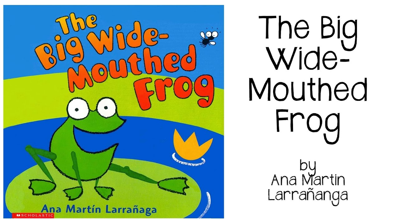 The Wide-Mouthed Frog by Ana Martin Larranaga